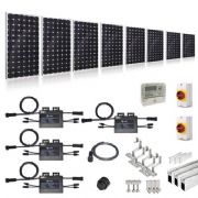 PLUG-IN SOLAR NEW BUILD/DEVELOPER 2KW 8 PANEL KIT